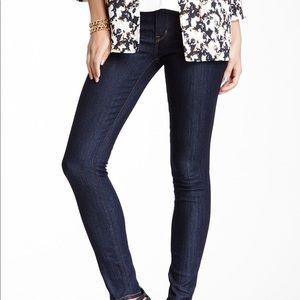 Rich and skinny dark wash jeans 27x32